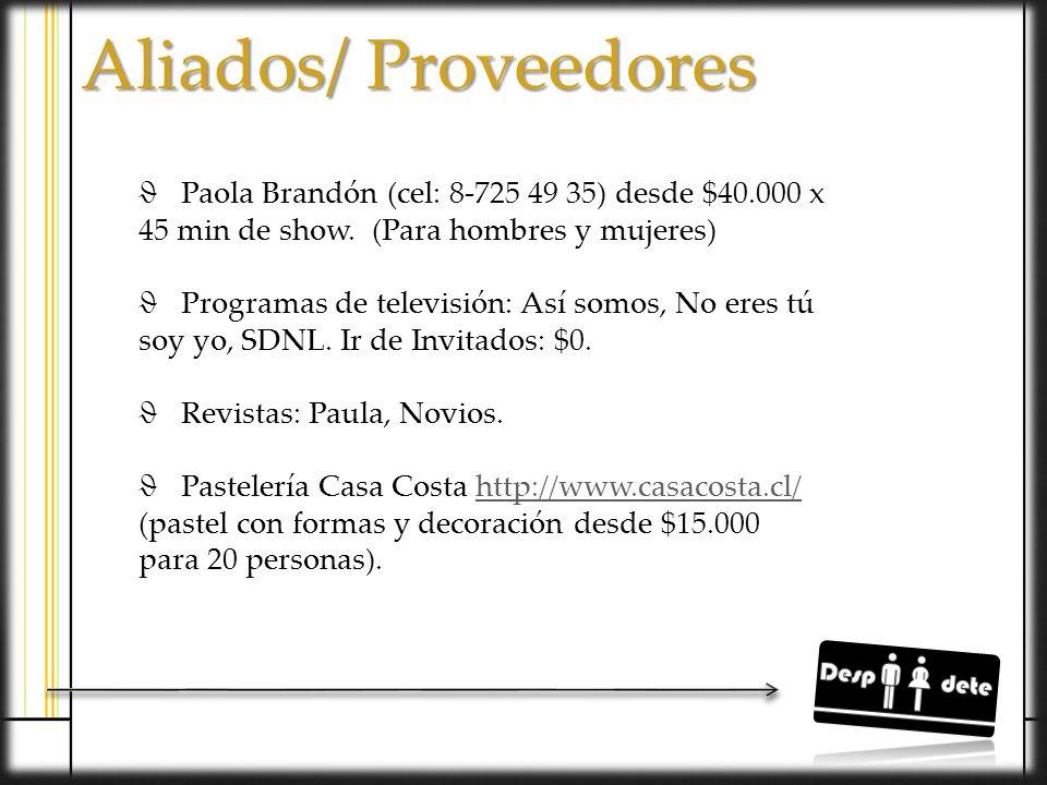 Participar en ExpoNovios 2013 Participar en ExpoNovios 2013 Boca a Boca Boca a Boca Fiestas: Nikkita, Old School y after office etc.