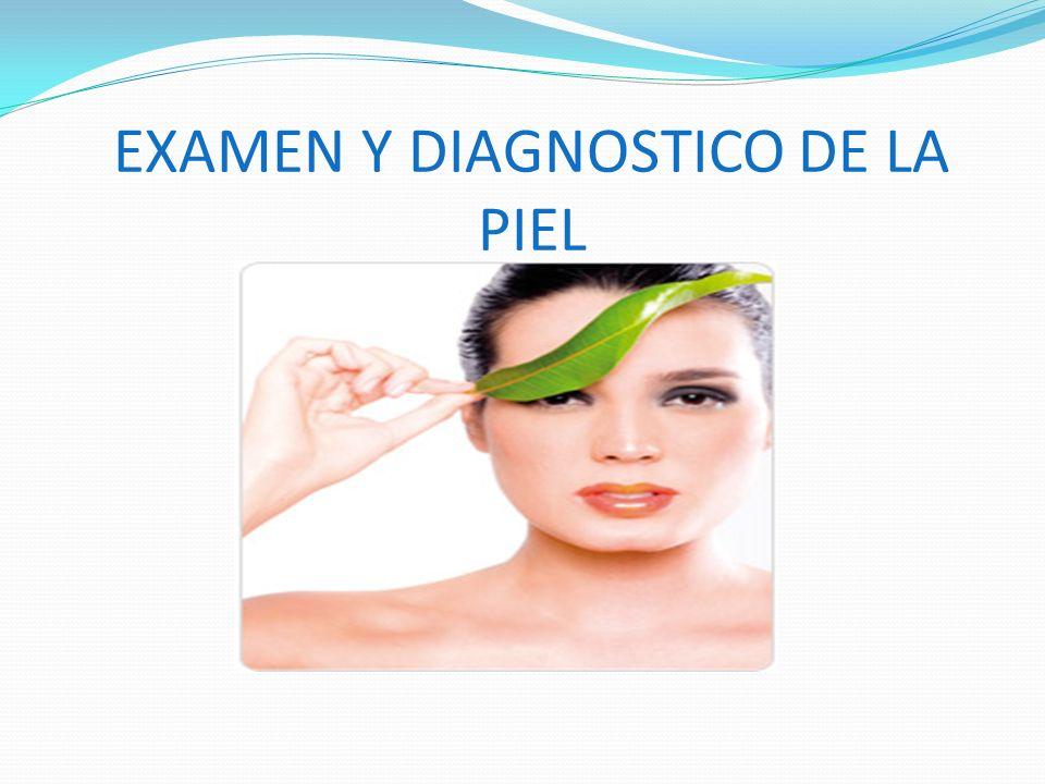 EXAMEN Y DIAGNOSTICO DE LA PIEL