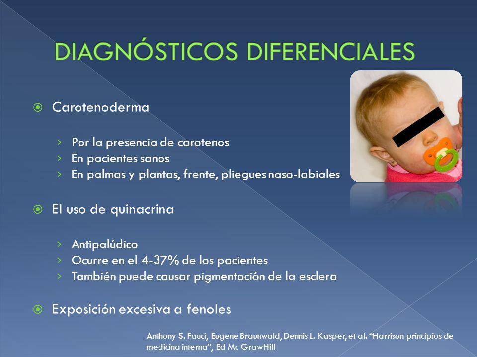 Enfermedad de Wilson: También denominada degeneración hepatocelular Autosómico recesivo, se localiza en el cromosoma 13 Infrecuente 1 de cada 30 000 individuos.