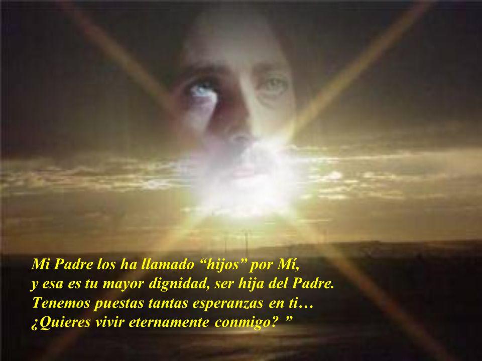 En cada Eucaristía, me vuelvo a entregar por ti, vuelvo a resucitar para arrancarte de la muerte y darte vida, la vida que tú mereces…para que encuent