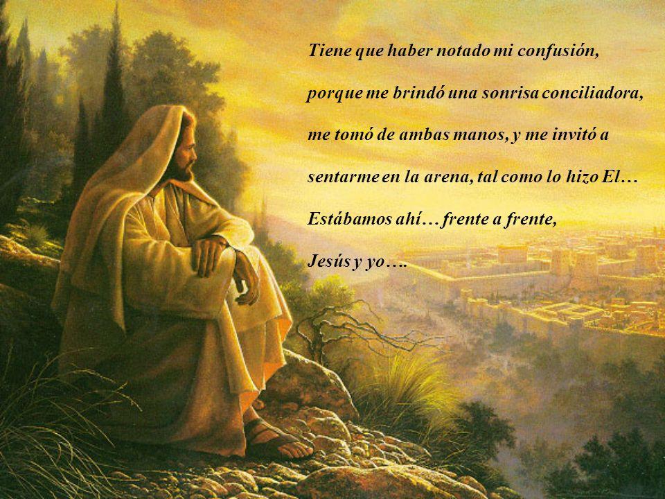 Acudo cada domingo a la Eucaristía, y hasta los días de semana cuando puedo… Ahí, me vuelvo a encontrar con El, con su Amor.