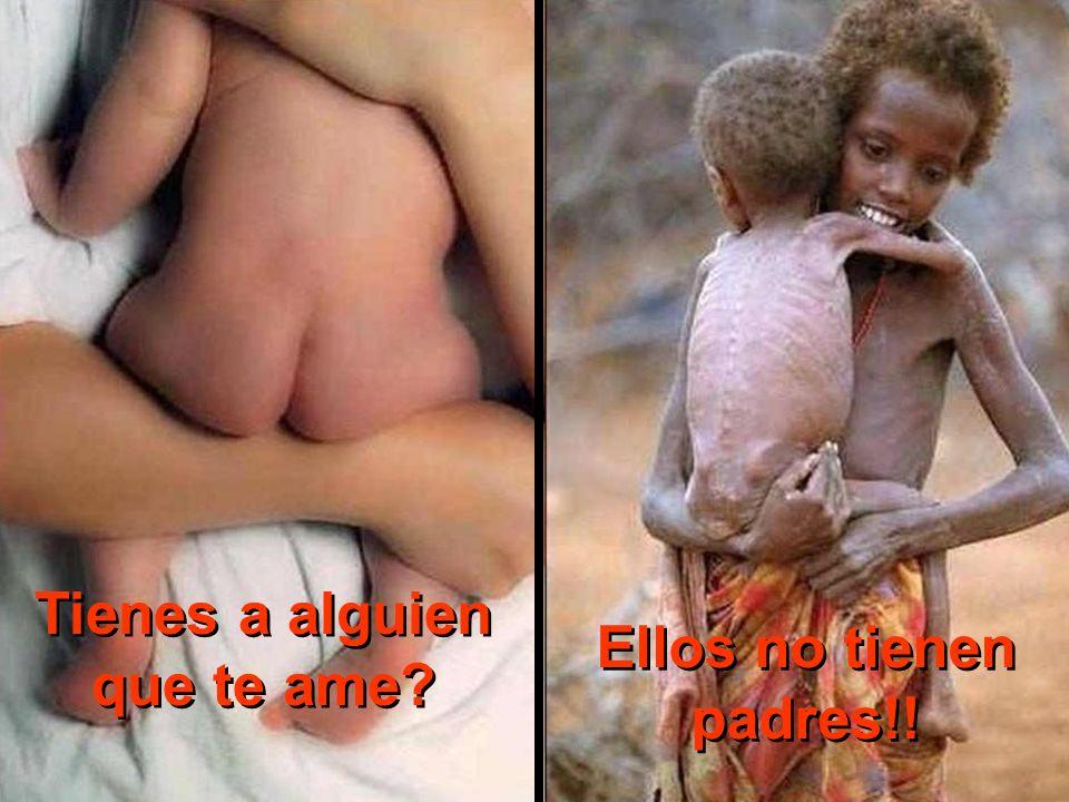 Vives a dieta… Ellos mueren de hambre!!!