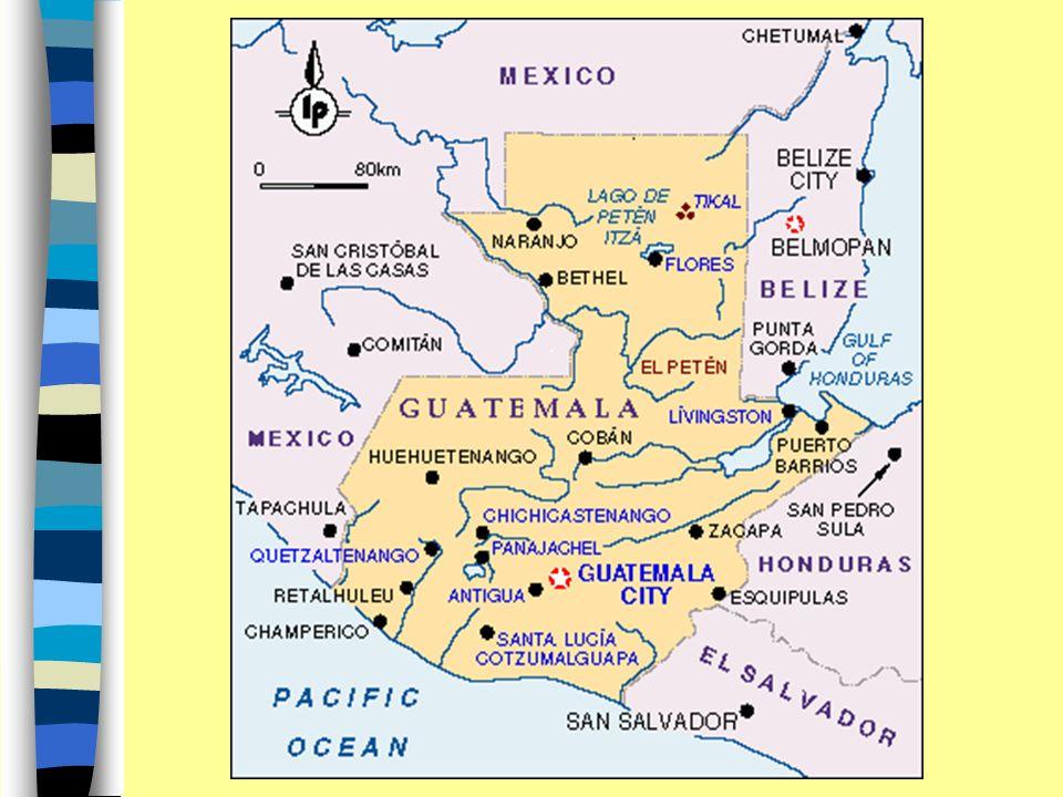 Nombre Oficial República de Guatemala Origen del Nombre: de Quauhtlemallan,