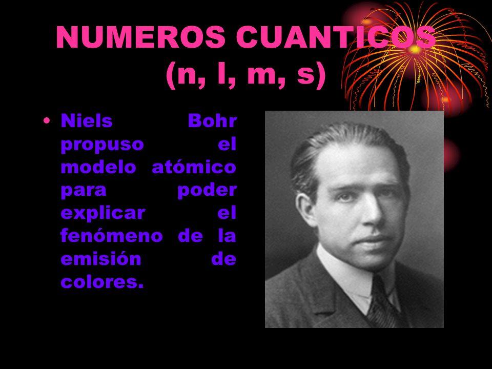 En su modelo atómico, Bohr introdujo la idea de que los electrones de los atomos se localizan solo en ciertos NIVELES DE ENERGIA, a los que llamo ORBITAS