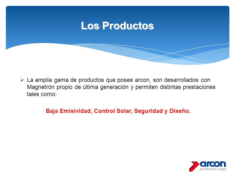 Los Productos La amplia gama de productos que posee arcon, son desarrollados con Magnetrón propio de última generación y permiten distintas prestacion