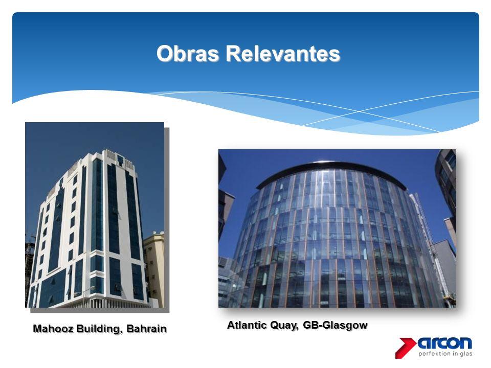 Obras Relevantes Obras Relevantes Mahooz Building, Bahrain Atlantic Quay, GB-Glasgow
