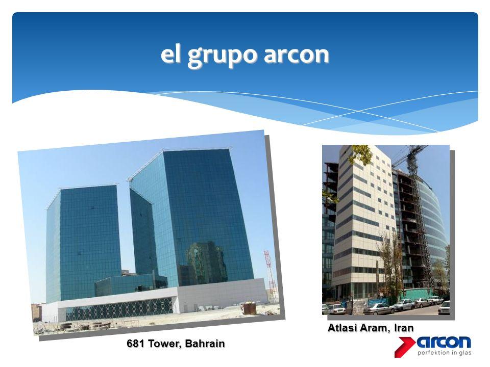 el grupo arcon 681 Tower, Bahrain Atlasi Aram, Iran