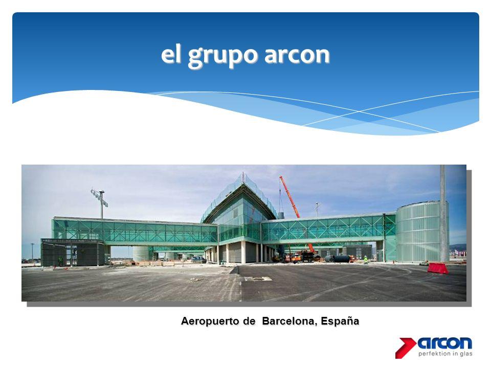 el grupo arcon Aeropuerto de Barcelona, España