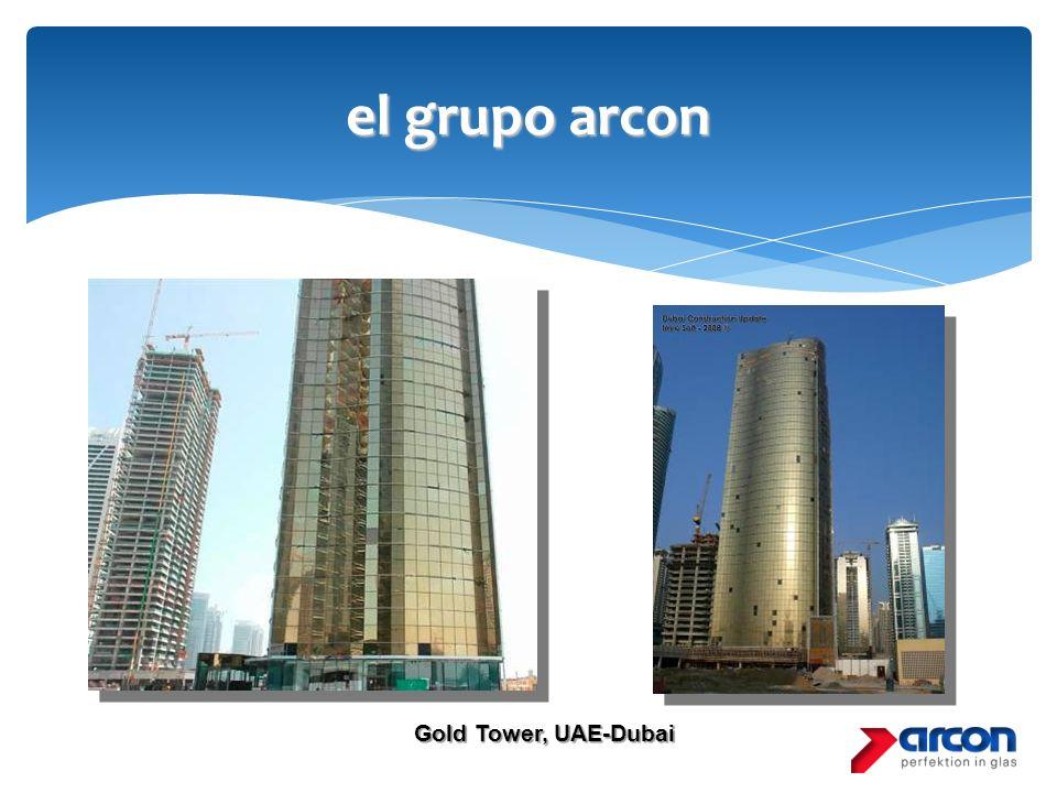 el grupo arcon Gold Tower, UAE-Dubai