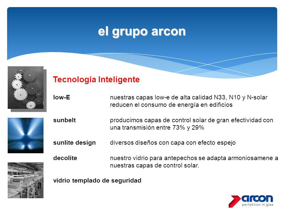 el grupo arcon Tecnología Inteligente low-E nuestras capas low-e de alta calidad N33, N10 y N-solar reducen el consumo de energía en edificios sunbelt