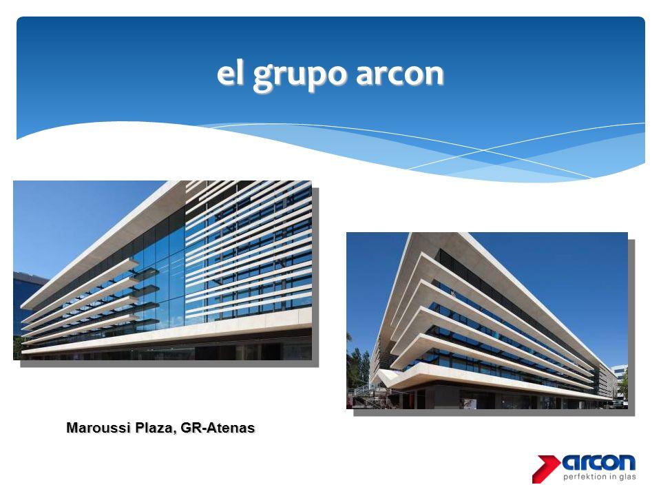 el grupo arcon Maroussi Plaza, GR-Atenas