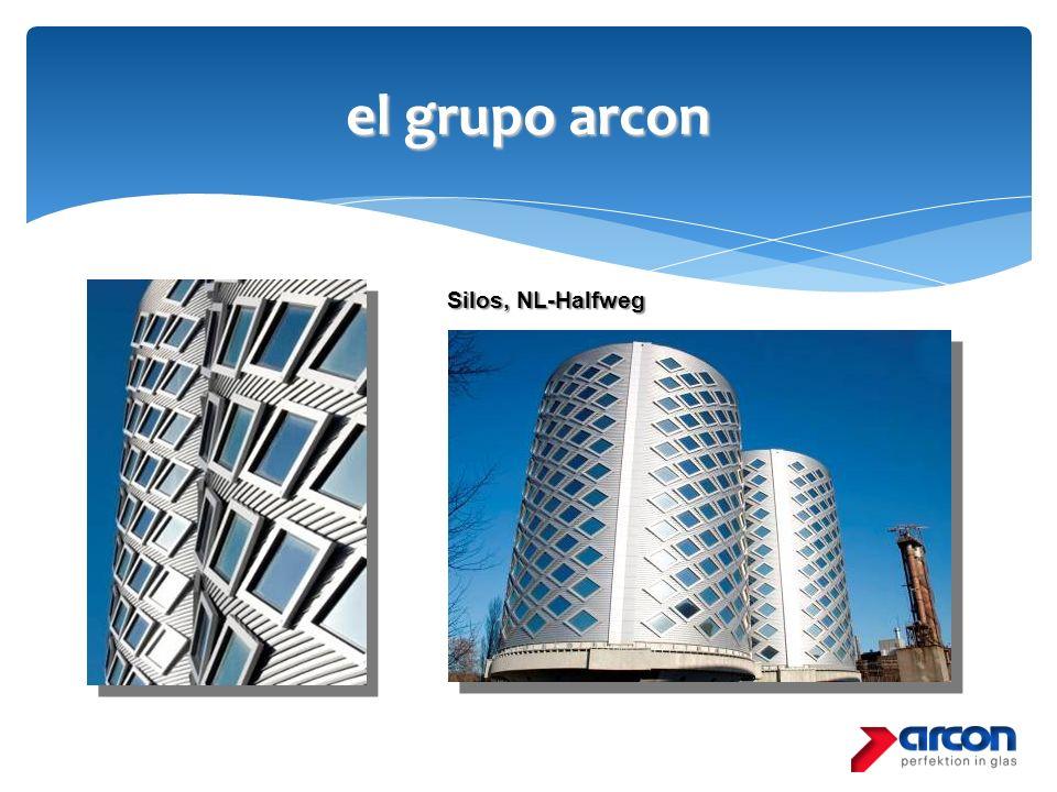 el grupo arcon Silos, NL-Halfweg