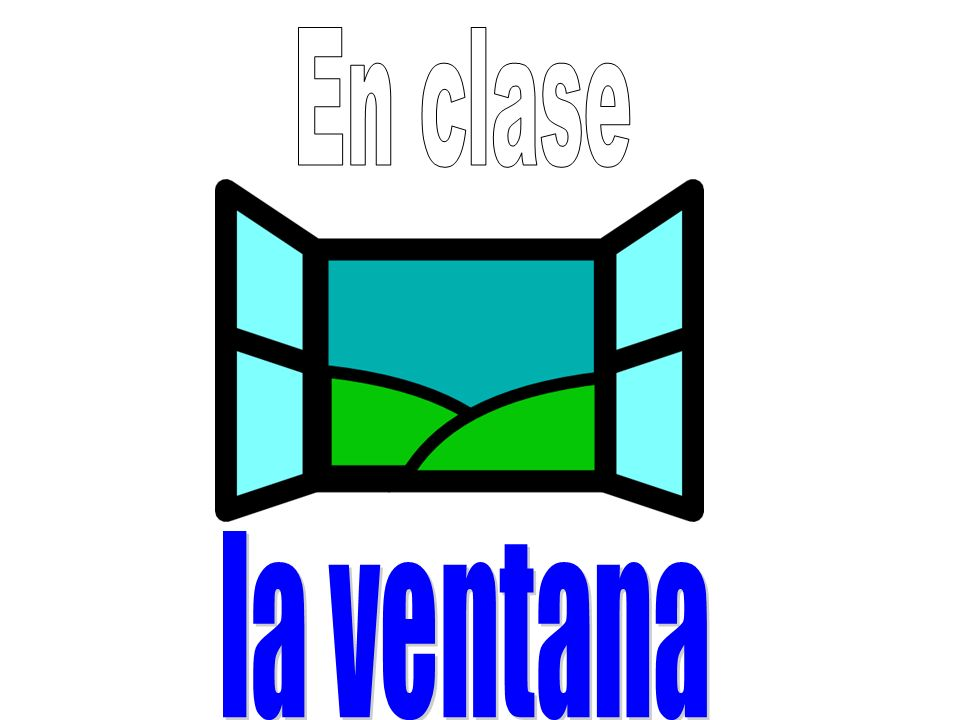 Eye Spy: Point to items in the classroom.Your partner must say them in Spanish.