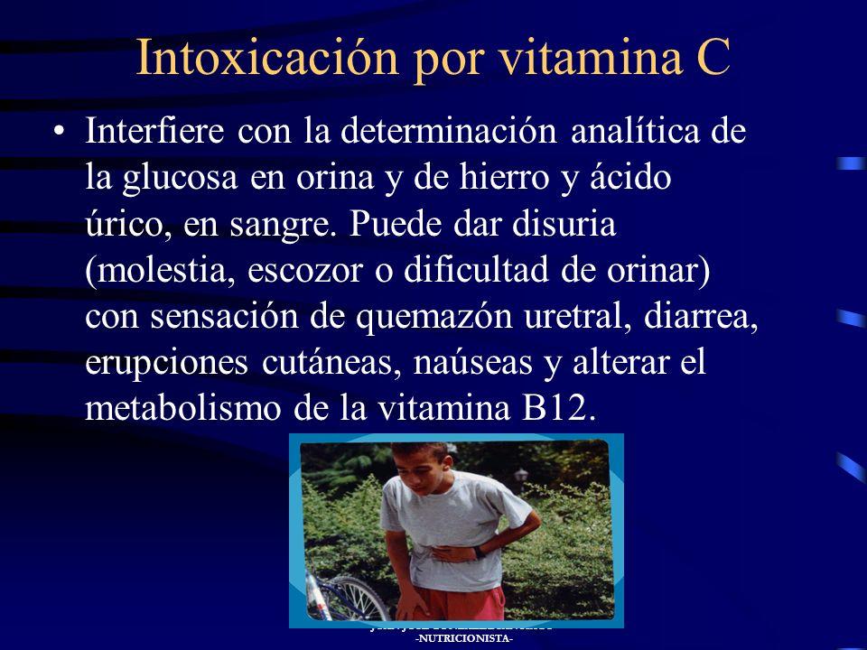 JUAN JOSÉ GONZÁLEZ SANTIAGO -NUTRICIONISTA- Se encuentran fundamentalmente en los cítricos, patatas, frambuesas, fresas, pimientos verdes, vegetales f
