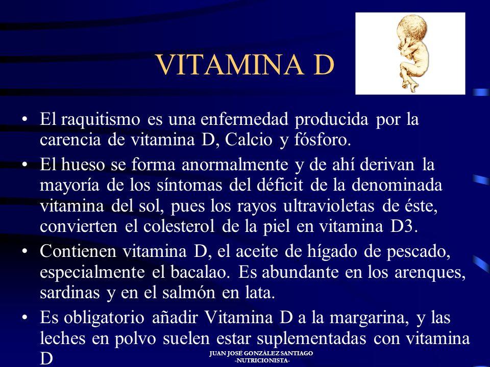 JUAN JOSÉ GONZÁLEZ SANTIAGO -NUTRICIONISTA- Intoxicación por vitamina C Interfiere con la determinación analítica de la glucosa en orina y de hierro y