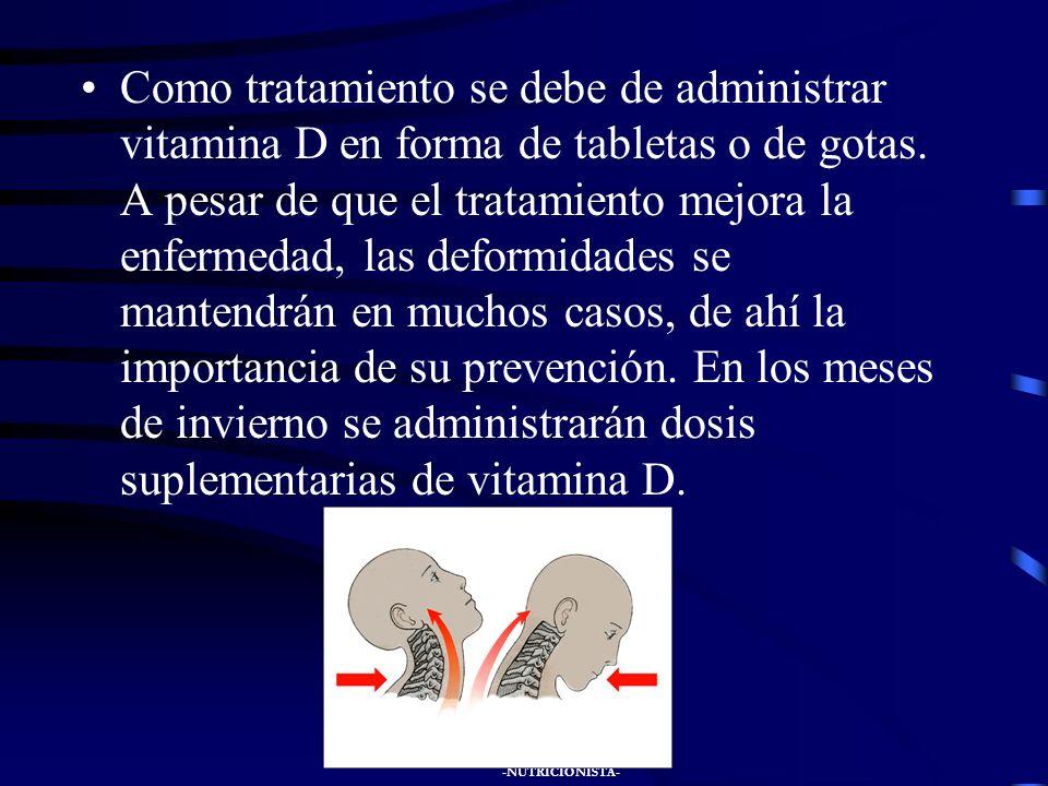 JUAN JOSÉ GONZÁLEZ SANTIAGO -NUTRICIONISTA- Hay ensanchamiento de los extremos d los huesos largos, visible en muñecas y rodillas. Aumenta el tamaño d