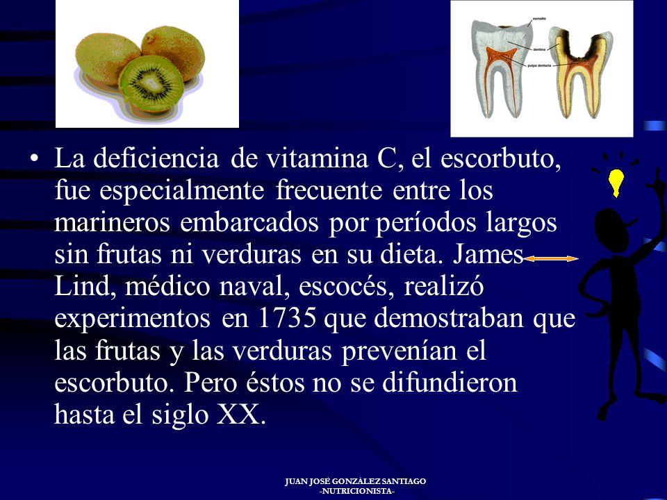 JUAN JOSÉ GONZÁLEZ SANTIAGO -NUTRICIONISTA- En el S. XVIII la deficiencia de Niacina (pelagra) se hizo frecuente en el Sur de Europa entre grupos que