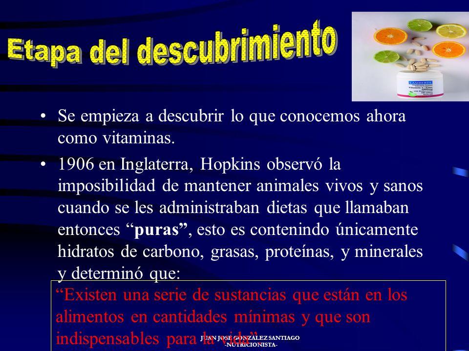 JUAN JOSÉ GONZÁLEZ SANTIAGO -NUTRICIONISTA- La deficiencia de vitamina C, el escorbuto, fue especialmente frecuente entre los marineros embarcados por