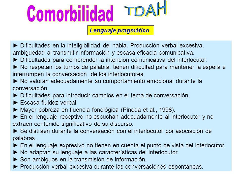 Organización fonológica (relación sonido-grafema). Dificultades en la ruta fonológica de acceso al significado de las palabras. Menor rendimiento en t