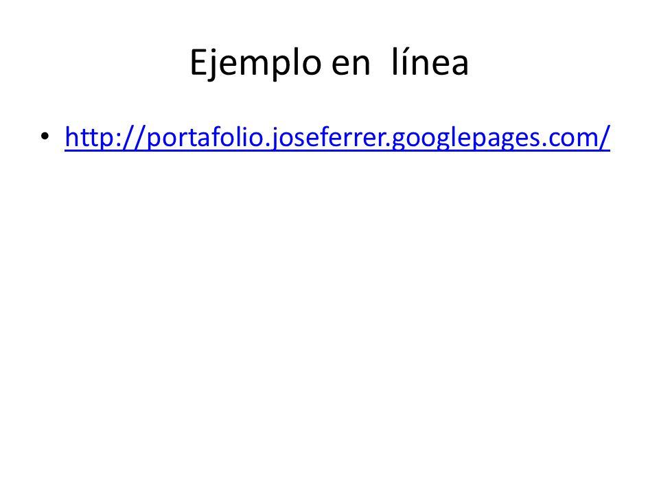Ejemplo en línea http://portafolio.joseferrer.googlepages.com/