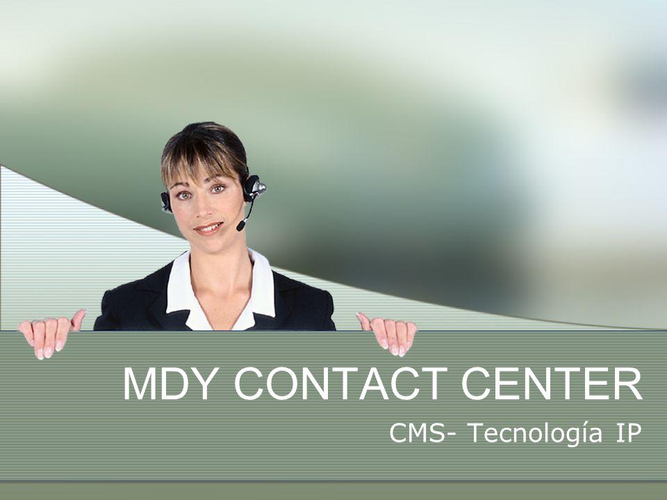 ¿Por qué MDY está con Avaya.Líder en infraestructura de Centros de Contacto.