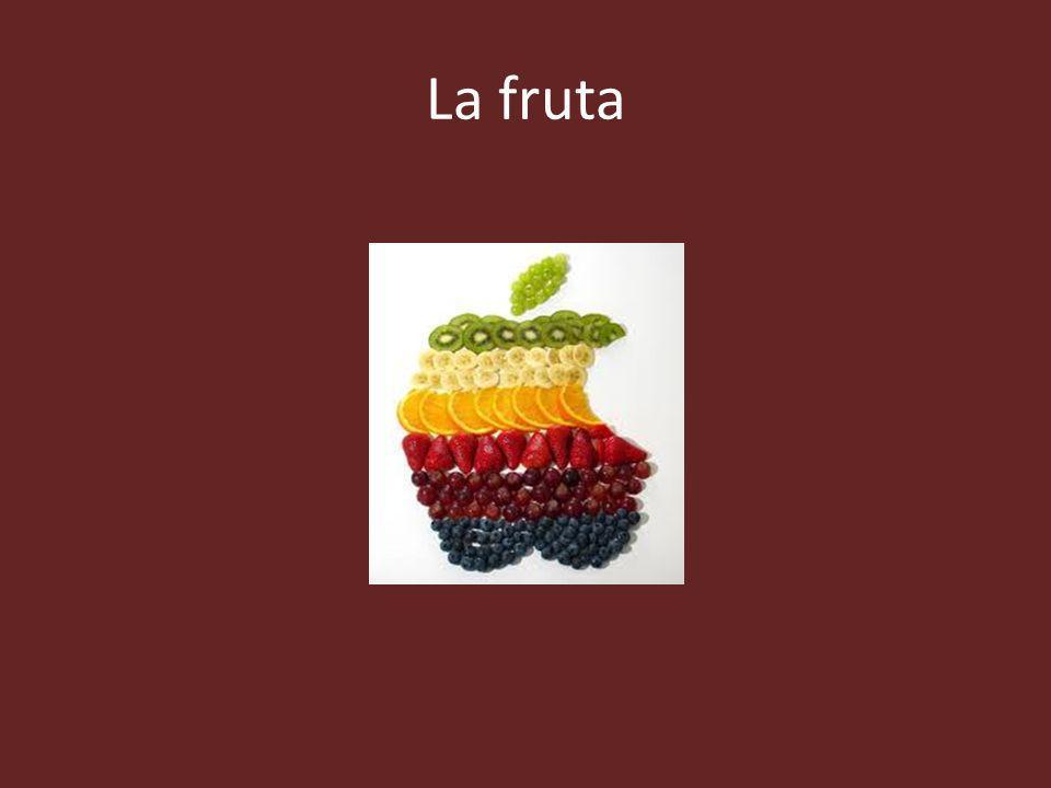 La fruta