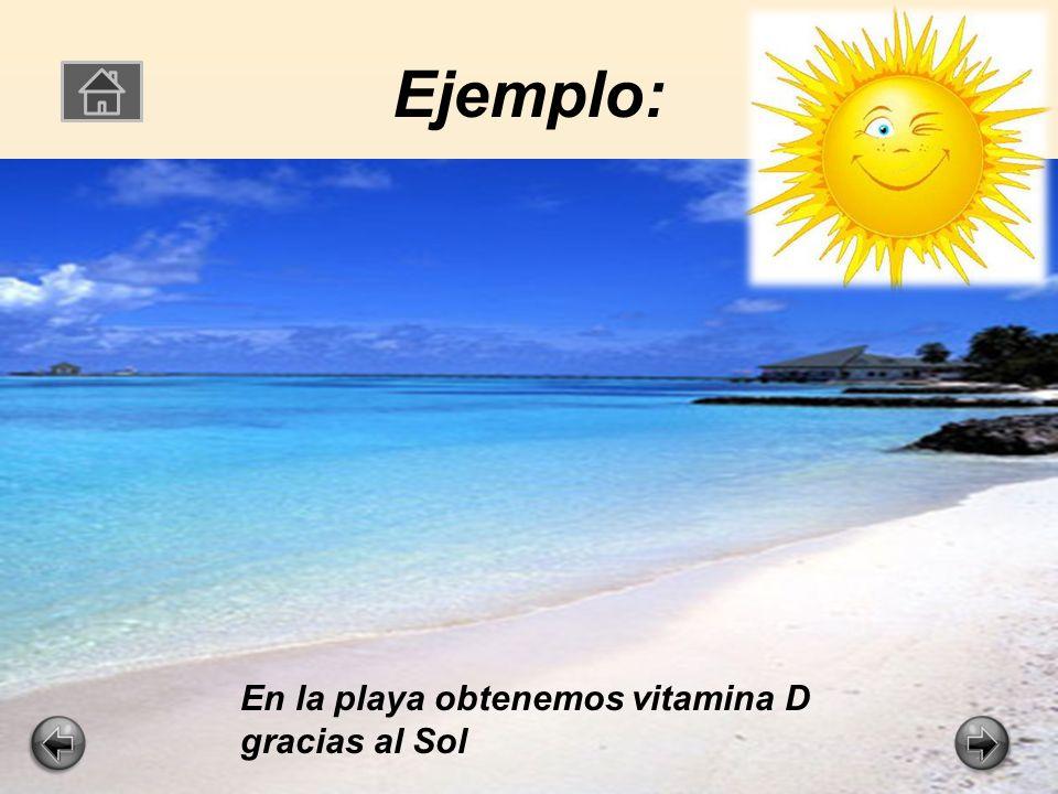 La vitamina D La vitamina D es muy importante para mantener tus huesos en buen estado.