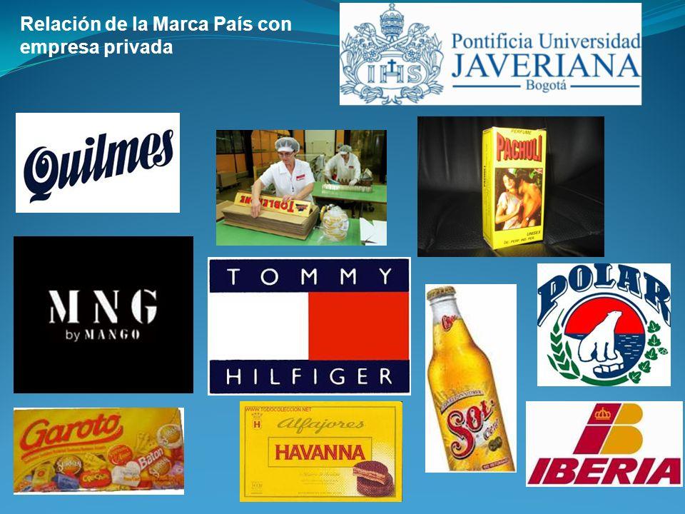 Ejemplo de marcas Lanzada el 5 de agosto de 2005 iniciativa de Lina Moreno de Uribe y de Luis Guillermo Plata, presidente de Proexport.
