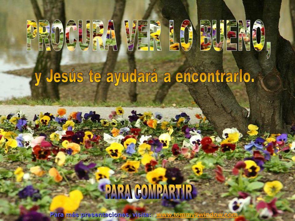 Jesús puede ayudarte a ver que no hay mal que por bien no venga.
