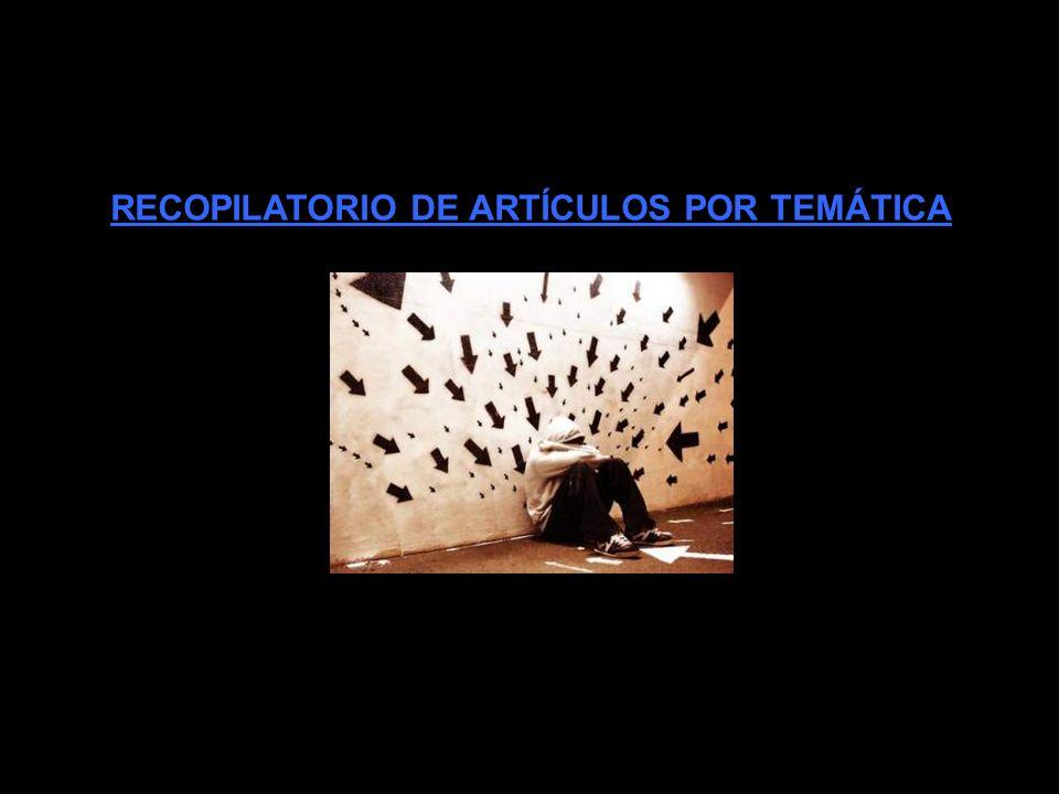 RECOPILATORIO DE ARTÍCULOS POR AÑOS