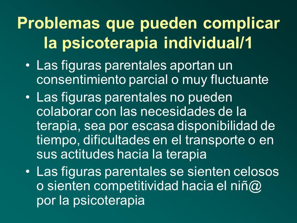 Características del buen psicoterapeuta de la infancia/4 Saber identificar otro tipo de factores que contribuyen al bienestar infantil Colaborar con o