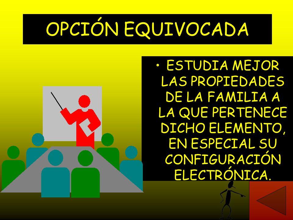 EL POTASIO TIENE TENDENCIA A: A - Ganar un electrón y formar el ion K -. B - Permanecer eléctricamente neutro K o. C - Perder un electrón y formar el