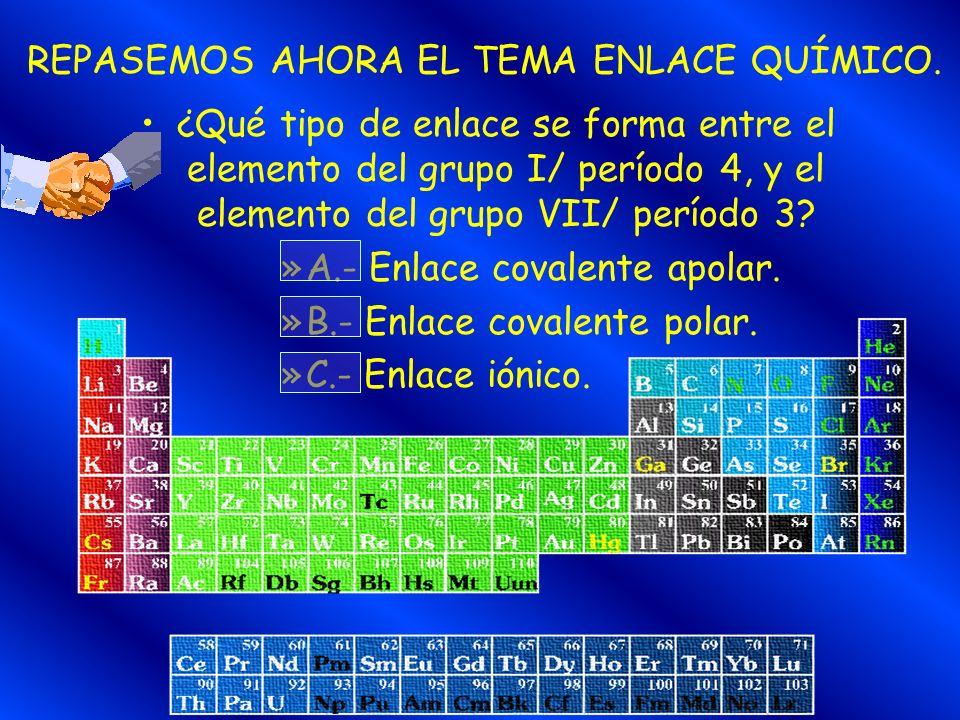 En una emisión radiactiva, debes tener en cuenta, tanto el número atómico como el número másico. Vuelve a intentarlo. OPCIÓN EQUIVOCADA