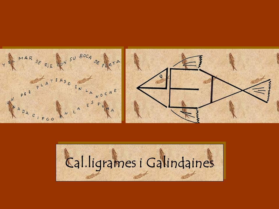 Cal.ligrames i Galindaines
