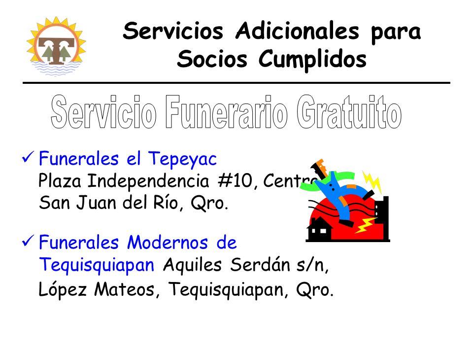 Funerales el Tepeyac Plaza Independencia #10, Centro San Juan del Río, Qro.