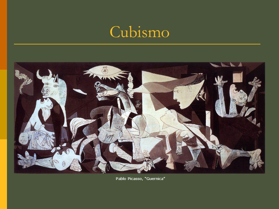 Cubismo Pablo Picasso, Guernica