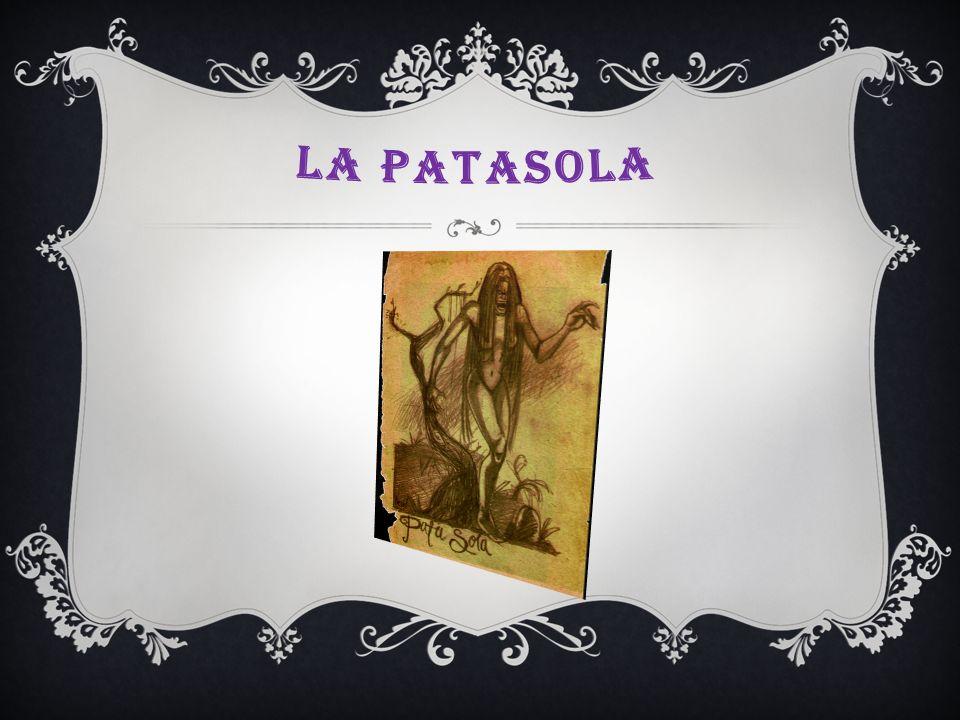 se dice de una mujer, que en la epoca de Jesus le dio de beber a los dos ladrones que estaban cerca de Jesus, pero a Jesus lo desprecio, por eso se dice que es una alma en pena poor las almas del purgatorio.