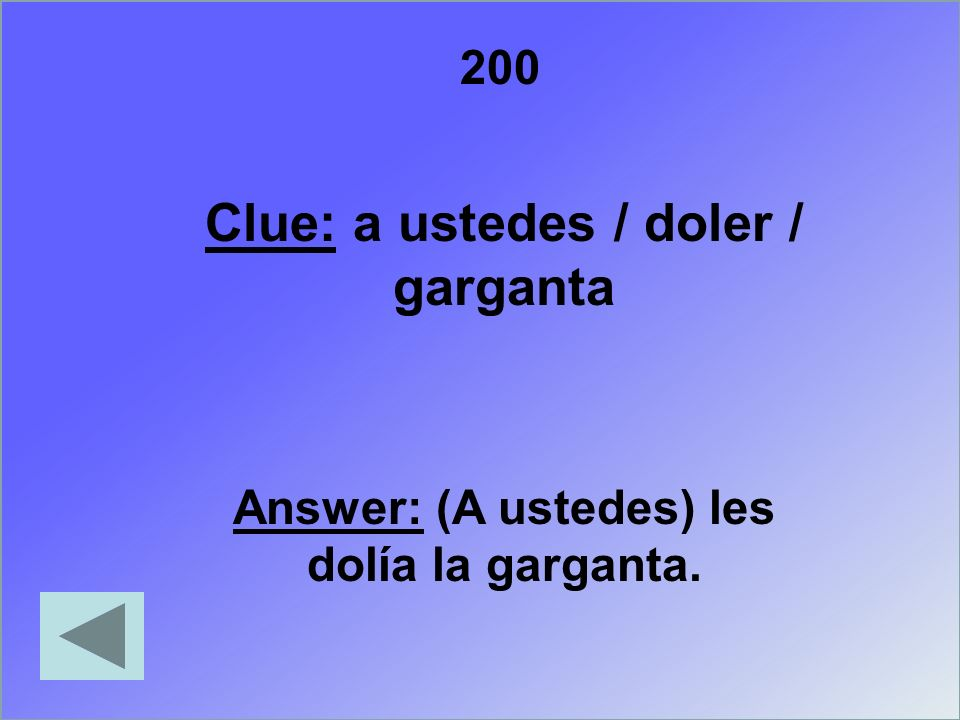 300 Clue: yo / quedar / aspirinas / en / mochila Answer: Se me quedaron las aspirinas en mochila.