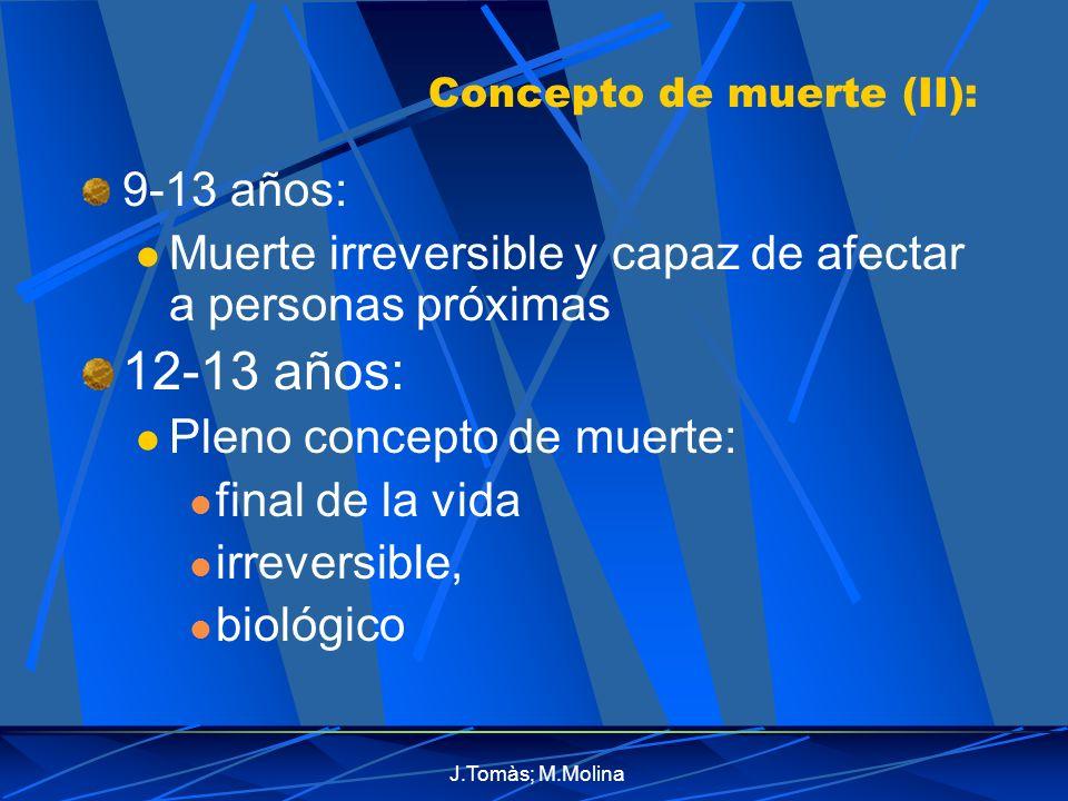 J.Tomàs; M.Molina Psicoterapia(III): Clínico: Debe comprender: actitudes del paciente Problemas vitales Transmitir sentido de: Optimismo actividad