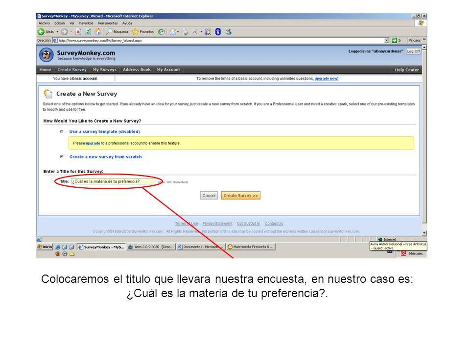 Guardaremos los cambios hechos en la página haciendo clic en (Save Changes) que tiene el significado de Guardar cambios.