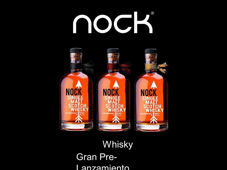 Whisky Gran Pre- Lanzamiento