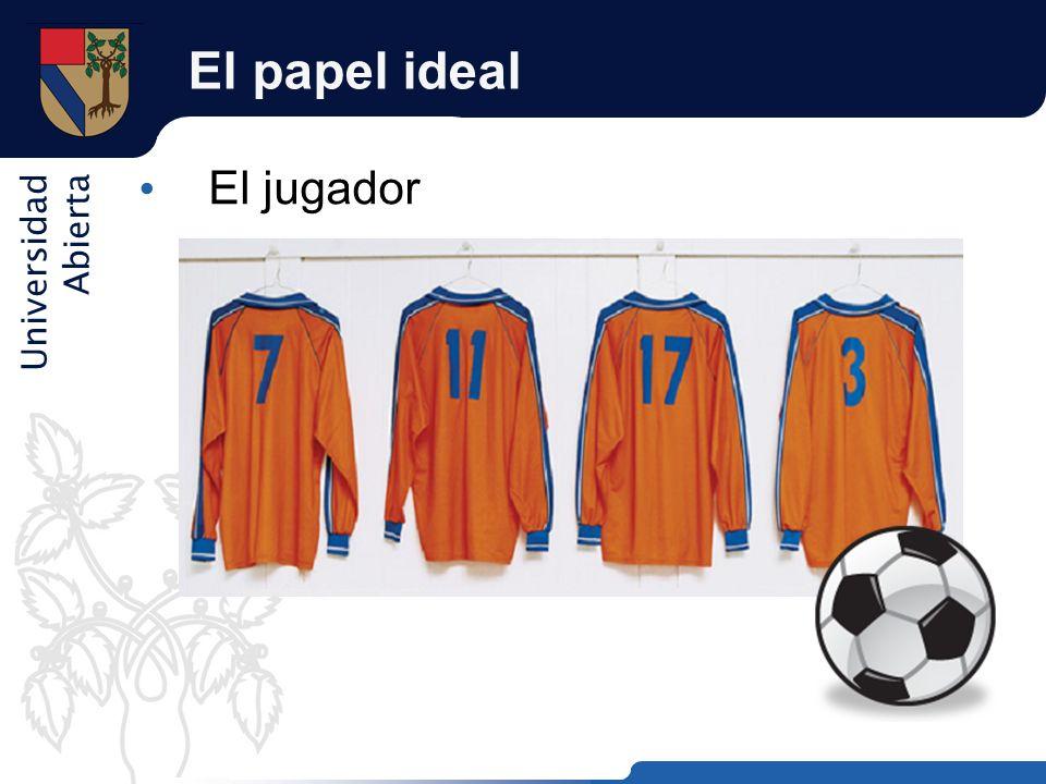Universidad Abierta El papel ideal El jugador