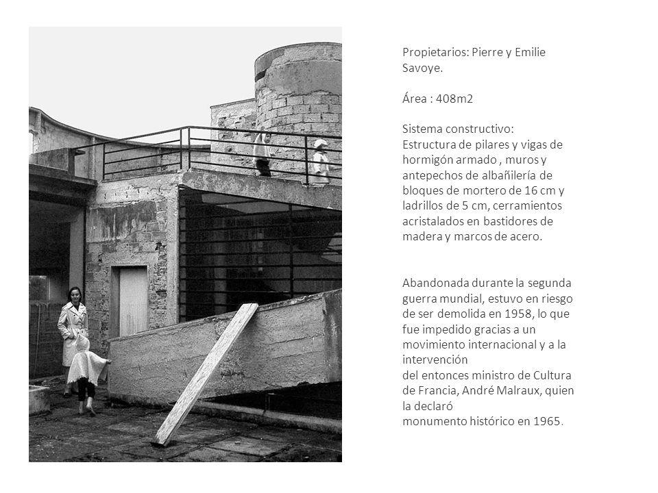 Abandonada durante la segunda guerra mundial, estuvo en riesgo de ser demolida en 1958, lo que fue impedido gracias a un movimiento internacional y a la intervención del entonces ministro de Cultura de Francia, André Malraux, quien la declaró monumento histórico en 1965.