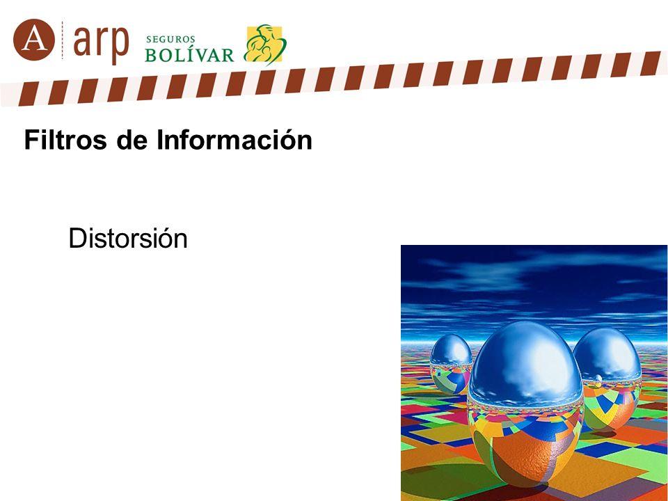 Distorsión Filtros de Información
