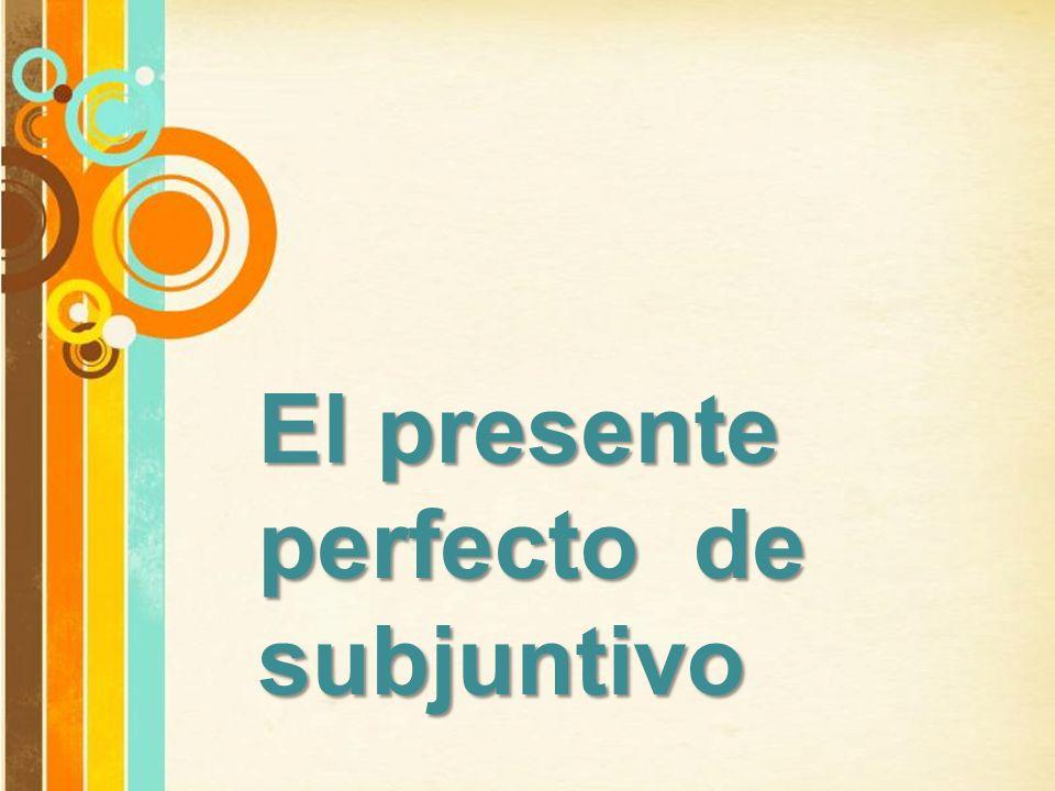 Free Powerpoint Templates Page 26 Free Powerpoint Templates El presente perfecto de subjuntivo