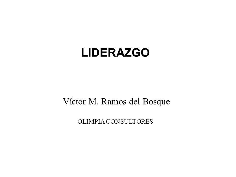 LIDERAZGO Víctor M. Ramos del Bosque OLIMPIA CONSULTORES