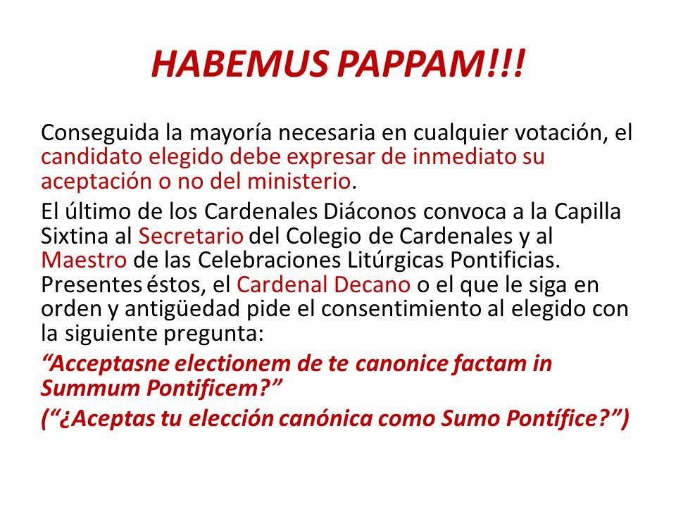 HABEMUS PAPPAM!!.