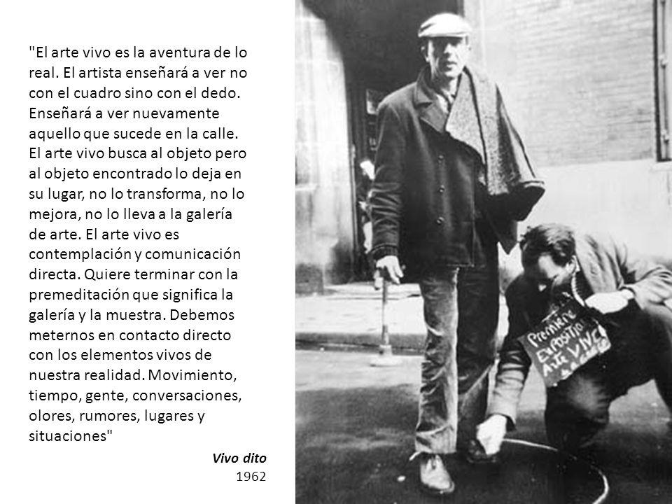 Primera Bienal de Arte de Vanguardia CGT de los Argentinos Rosario 1968 Nosotros queremos restituir las palabras, las acciones dramáticas, las imágenes en donde puedan cumplir un rol revolucionario, donde sean útiles, donde se puedan convertir en armas para la lucha.