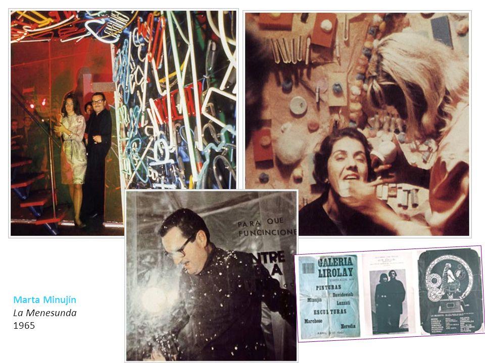 ARTE DE SISTEMAS Carlos Ginzburg Instalación efímera en terreno baldío en calle Corrientes al 1500 – Buenos Aires 1971 Fotografía de registro documental.