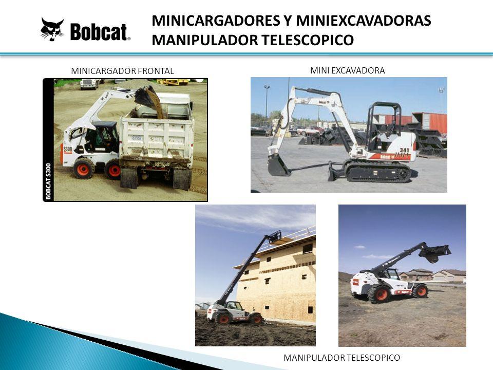 MINICARGADOR FRONTAL MINI EXCAVADORA MINICARGADORES Y MINIEXCAVADORAS MANIPULADOR TELESCOPICO